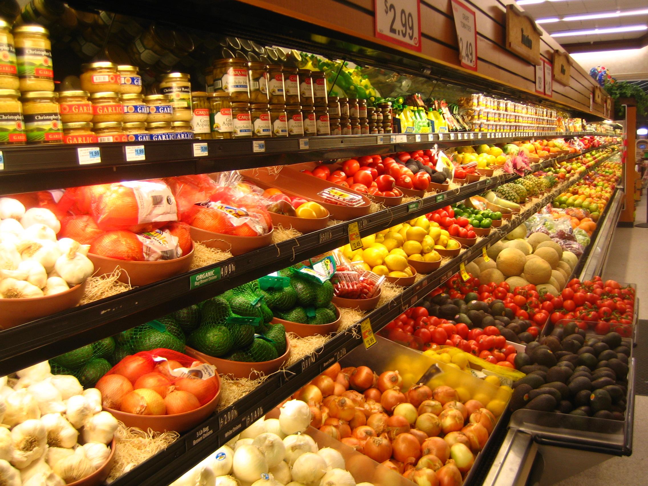 Сохранность продуктов в торговле